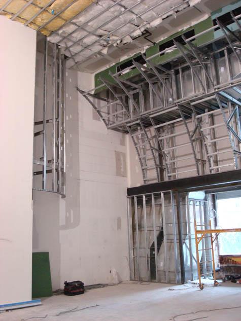 Infinity Chapel Construction