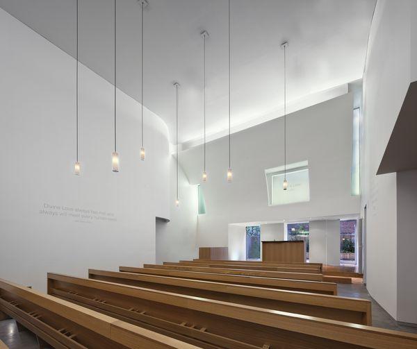 Infinity Chapel On Minimalist Modern Chapel