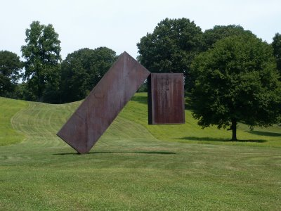Storm king suspended by menashe kadishman