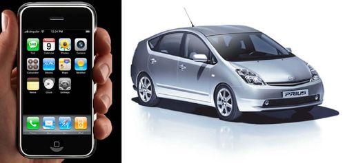 Iphone prius